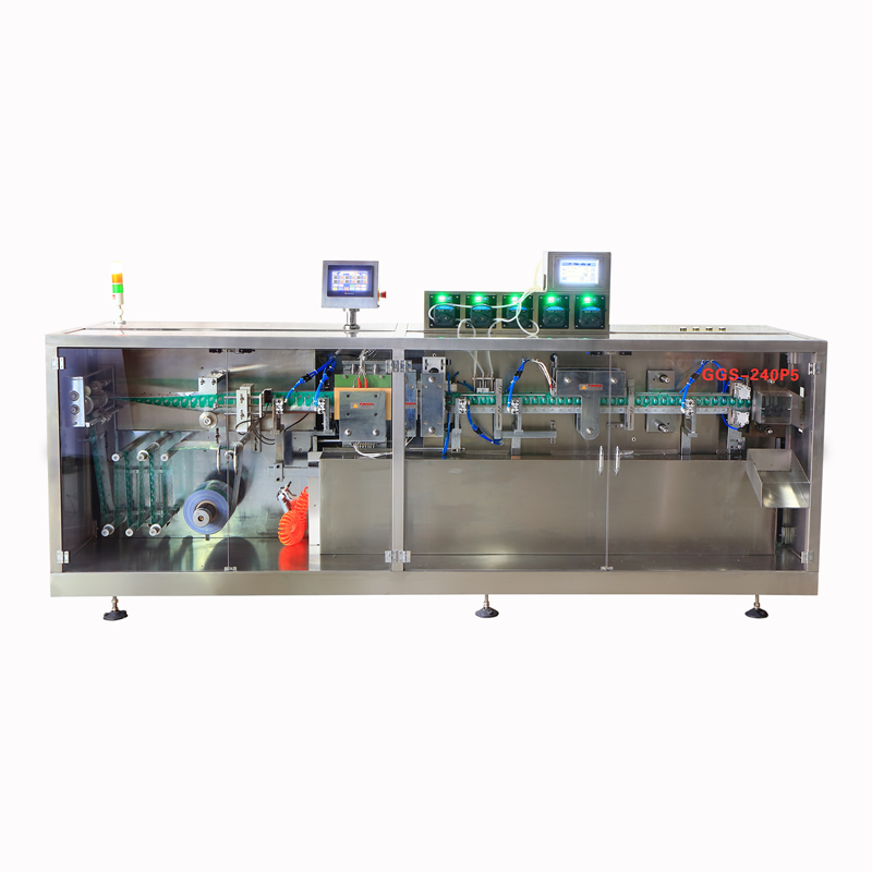 GGS-240P5 Automatic Liquid Filling and Sealing Machine